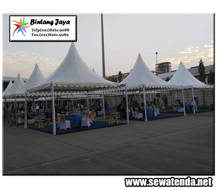 Rental tenda kerucut terlengkap event berkualitas