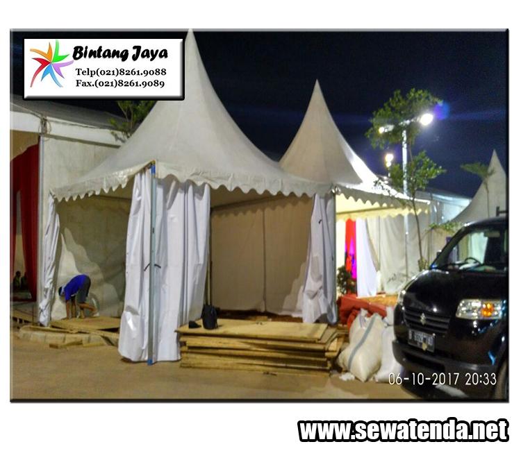 Pusat Rental tenda kerucut murah terbesar minat hubungi 021-8261-9088