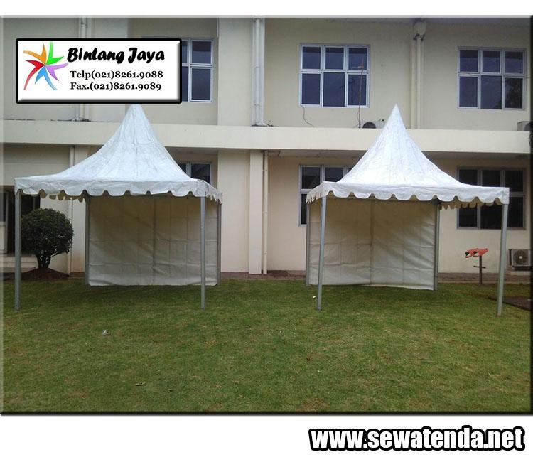 Perentalan tenda kerucut terbaik di bekasi hubungi 021-82601199