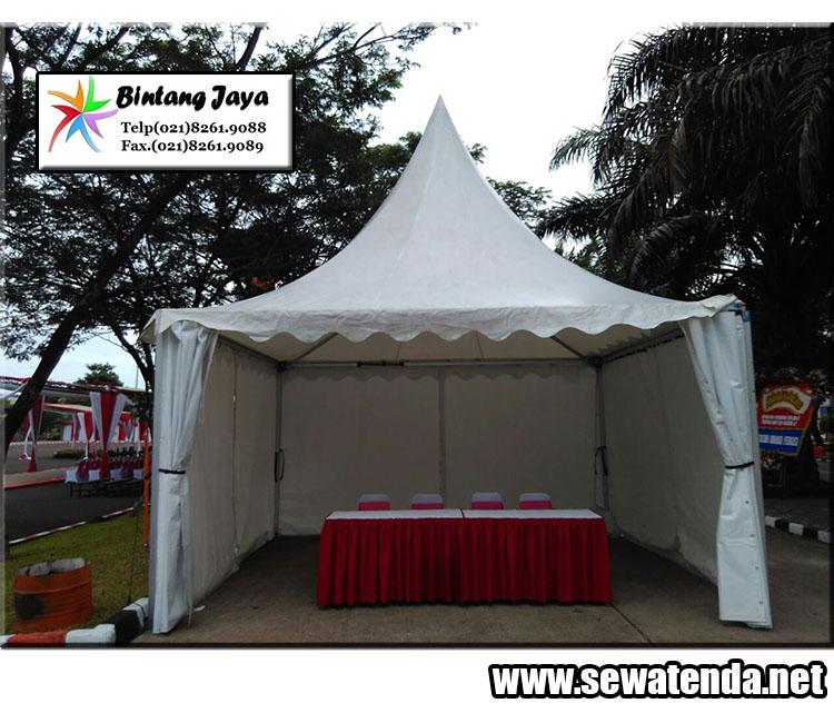 rental tenda kerucut siap pasang di event-event