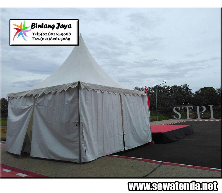 pusat sewa tenda kerucut praktis murah