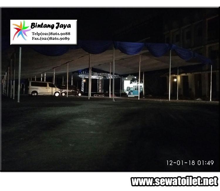 sewa tenda dengan dekorasi siap meriahkan acara anda