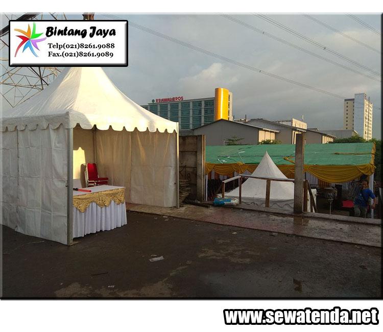Perentalan tenda kerucut murah besar dan terlengkap