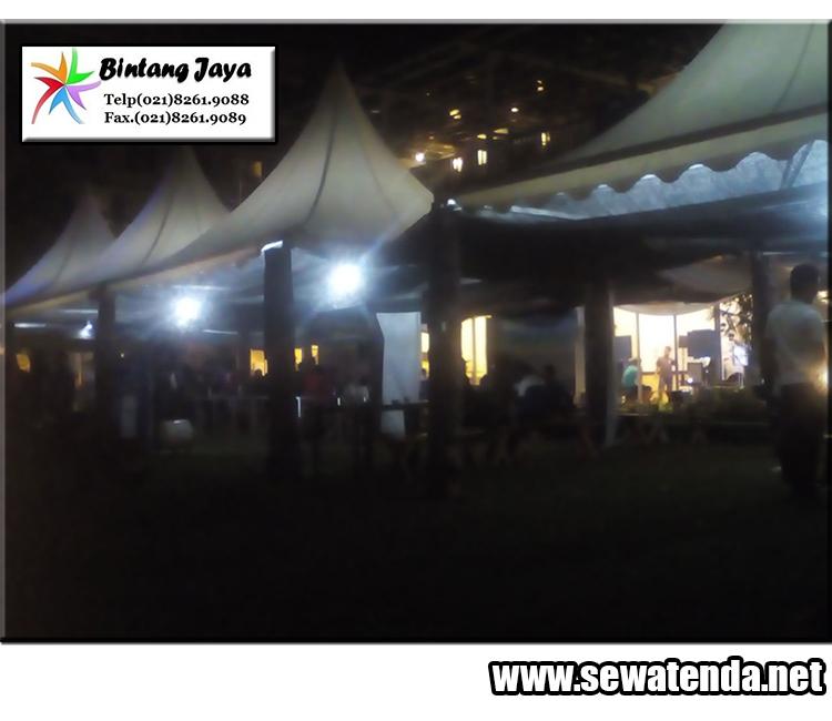 sewa tenda kerucut kualitas no 1 untuk event sukses di jabodetabek, karawang, purwakarta dan bandung