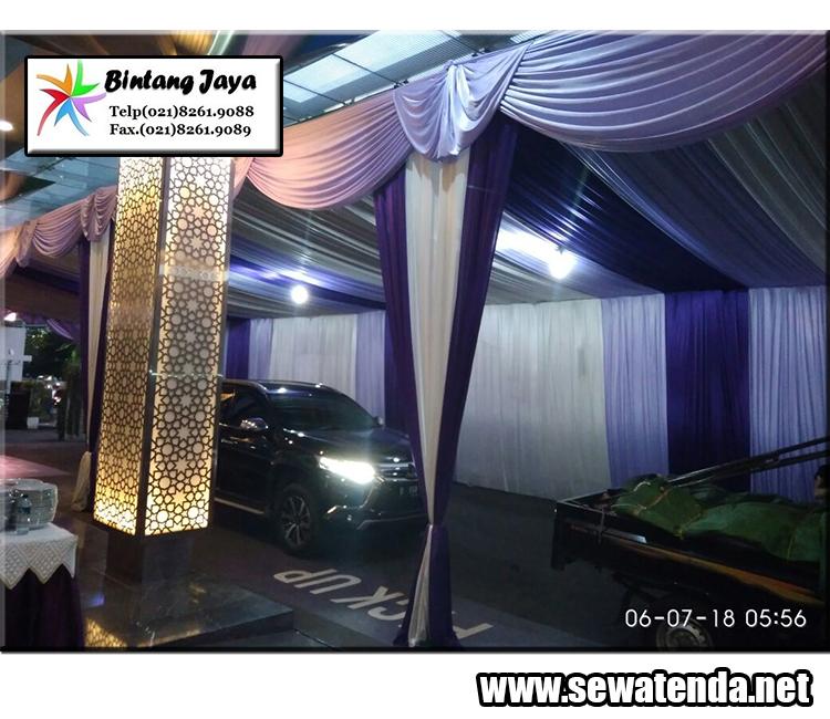 tempat rental tenda konvensional dekorasi balon, serut dan VIP  untuk event/acara anda