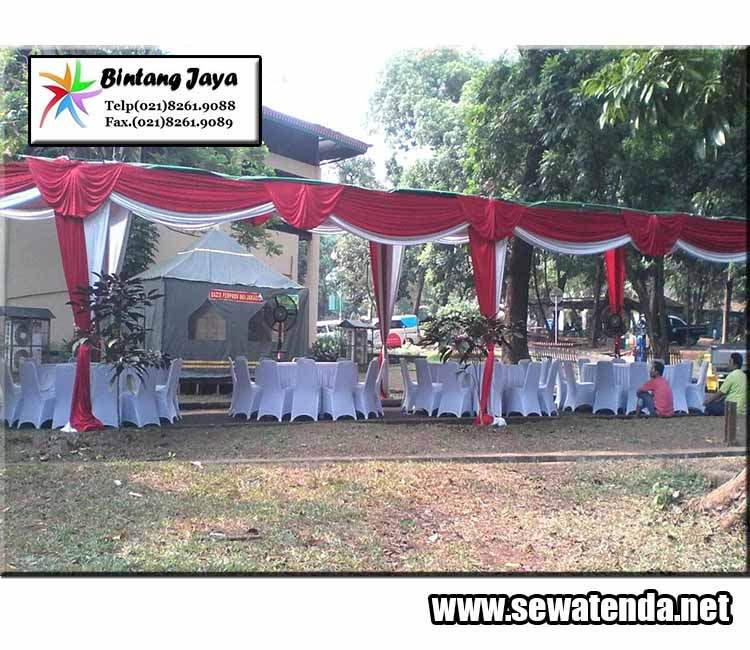 rental tenda konvensional party mewah murah terbaik