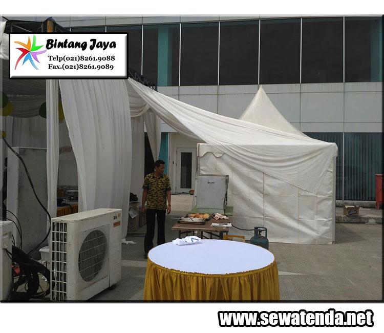 perentalan tenda kerucut terbaik kuat dan kokoh di daerah jabodetabek