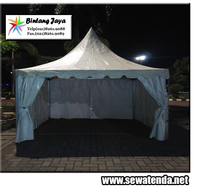 persewaan tenda kerucut murah berkualitas di bekasi minat hubungi 021-8261-9088