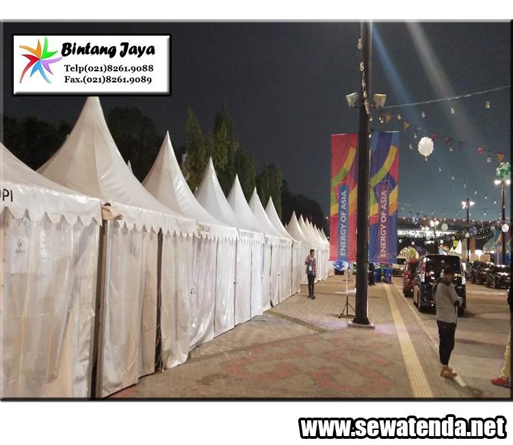 Jasa Sewa Tenda Kerucut festival Bogor