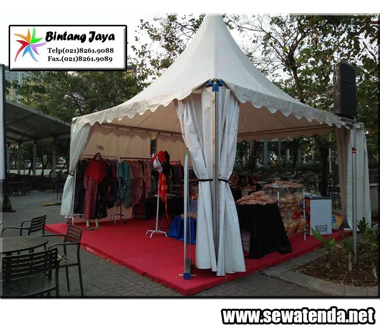 rental tenda kerucut untuk berbagai macam kebutuhan di acara anda di karawang