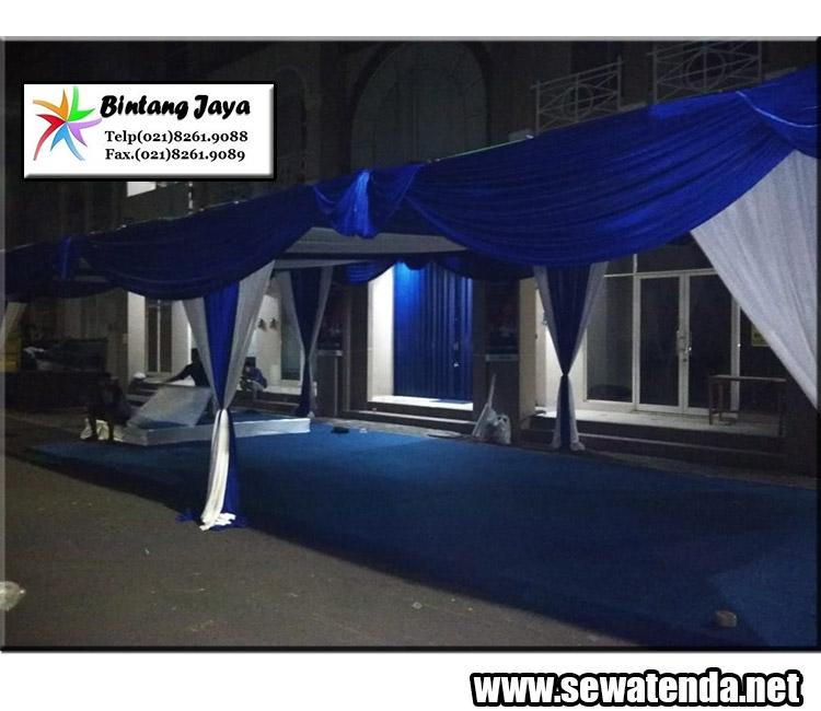 jasa rental tenda tersedia dekorasi meriah dengan harga murah