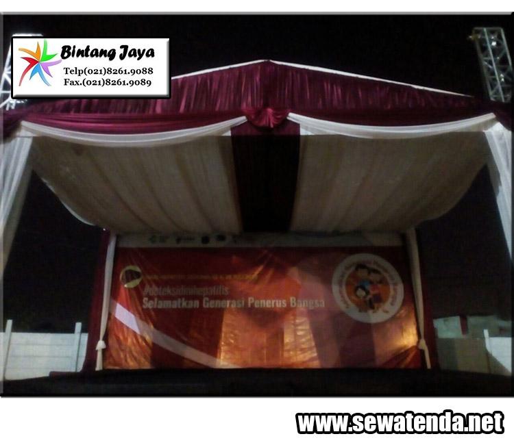 pusat sewa tenda konvensional lengkap dekorasi murah