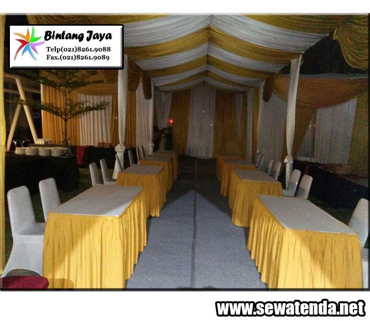 Rental tenda termurah dekorasi berkelas dan berkulitas