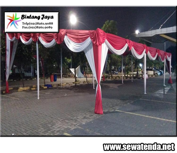 pusat rental tenda konvensional termurah event 17 agustusan
