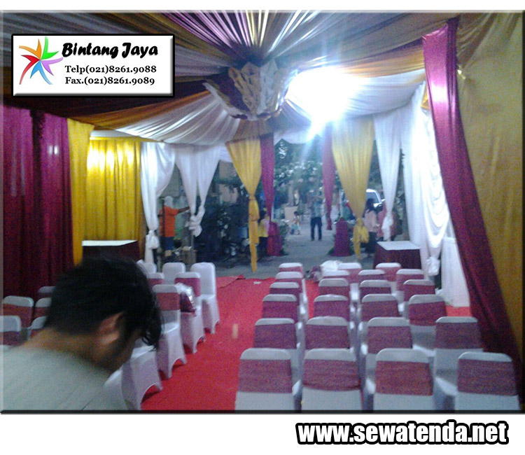 kami menyewakan jenis dekorasi dalam tenda seperti dekor balon, serut dan dekor VIP murah