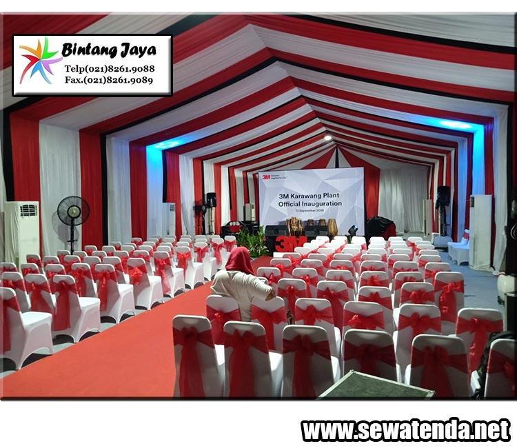 Pusat Rental Tenda Roder Berkualitas dekorasi mewah