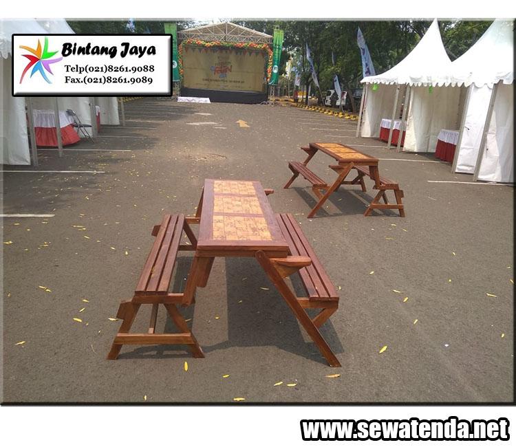 Tenda kerucut event mewah dan berkualitas di Jabodetabek