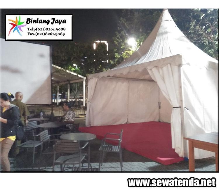 Rental tenda kerucut serbaguna di segala macam event