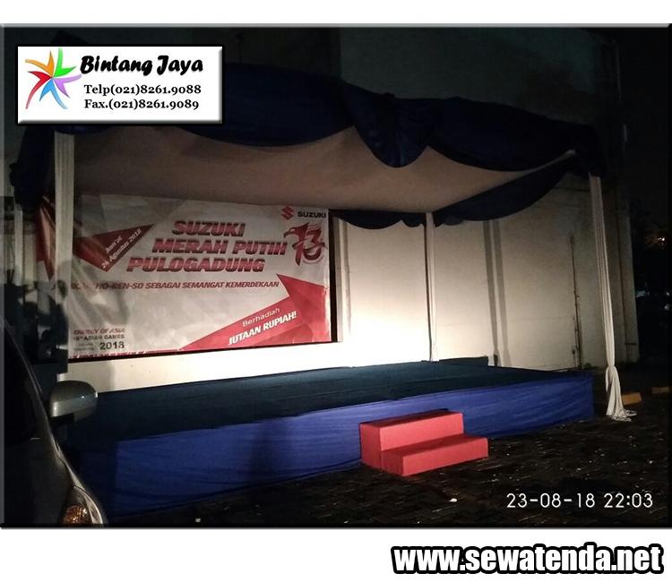 pusat sewa tenda konvensional panggung murah lengkap di jabodetabek