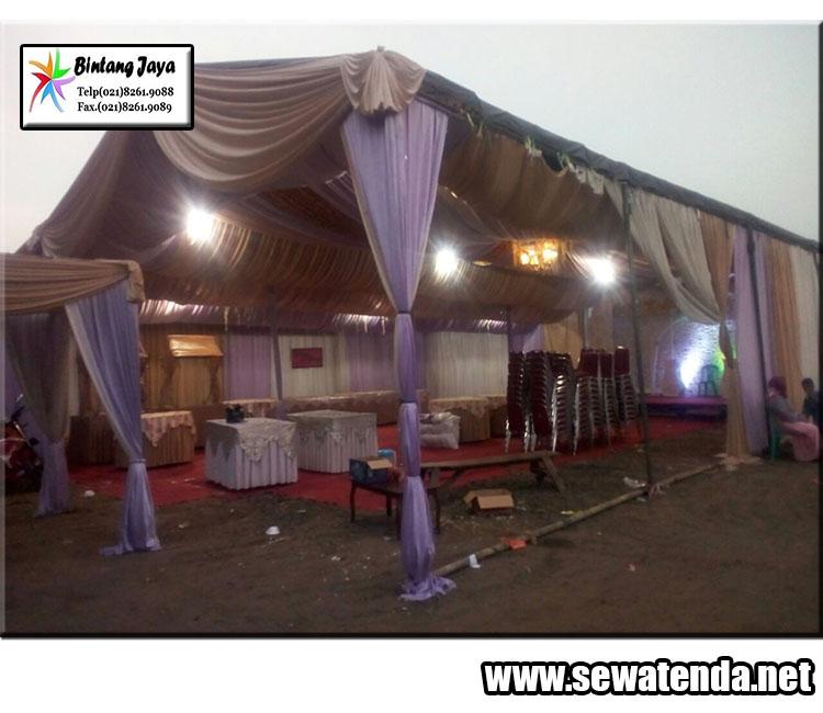 Rental Tenda murah dekorasi berkelas