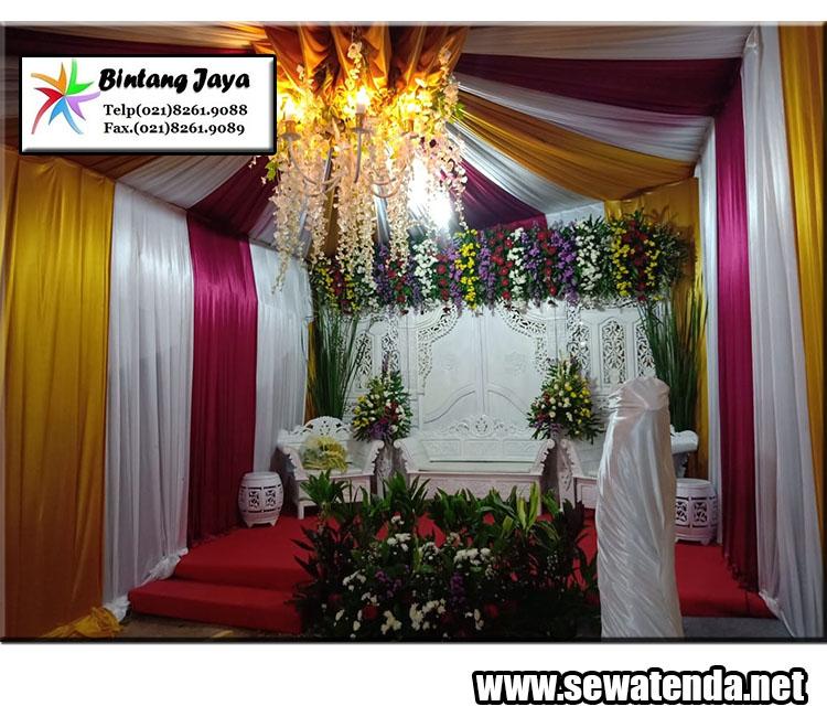 jasa sewa tenda untuk acara pernikahan minat hubungi 021-82601199