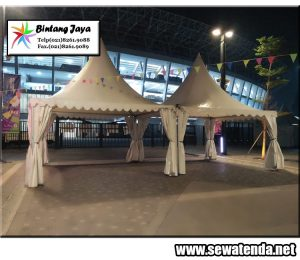 Sewa Tenda berbentuk kerucut murah