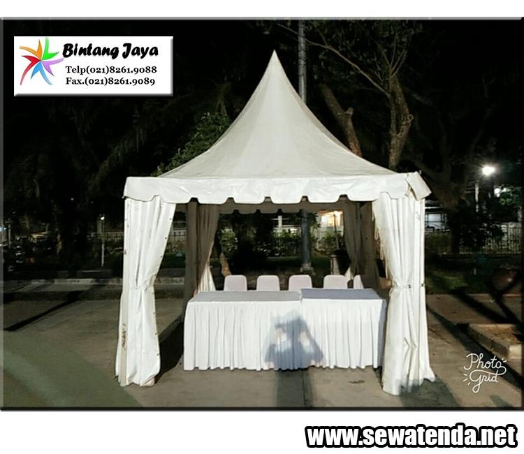Rental Tenda kerucut Cawang