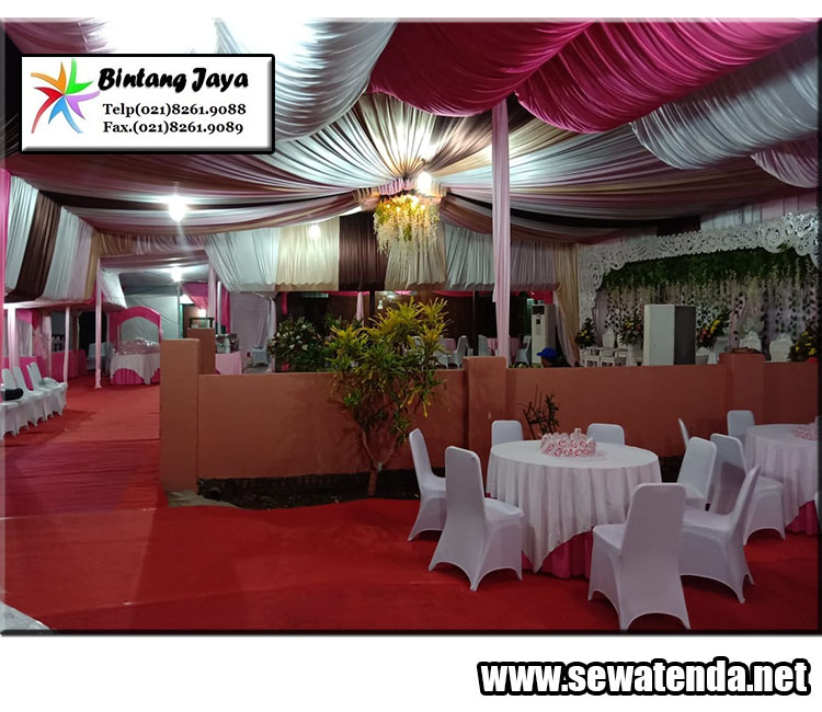 Sewa tenda konvensional termurah siap untuk mensukseskan acara pernikahan anda