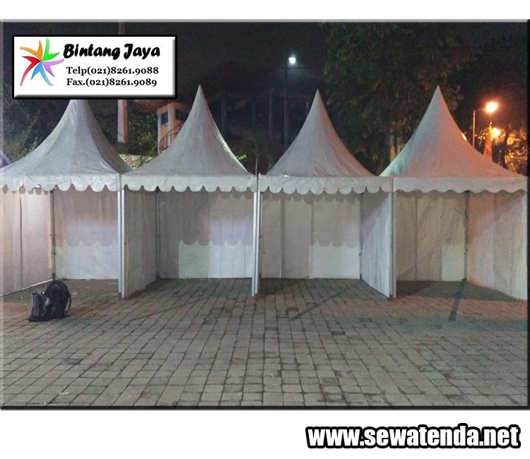 Jasa persewaan tenda kerucut murah berkelas promo desember pesan hubungi 087888484577