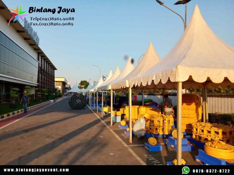 Sewa Tenda Kerucut kamar Vaksinasi Termurah di Jakarta Timur