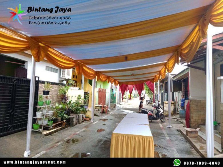 Sewa Tenda Dekorasi Serut Murah Tambun