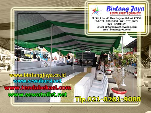 Sewa Tenda Dekorasi Serut Tambun