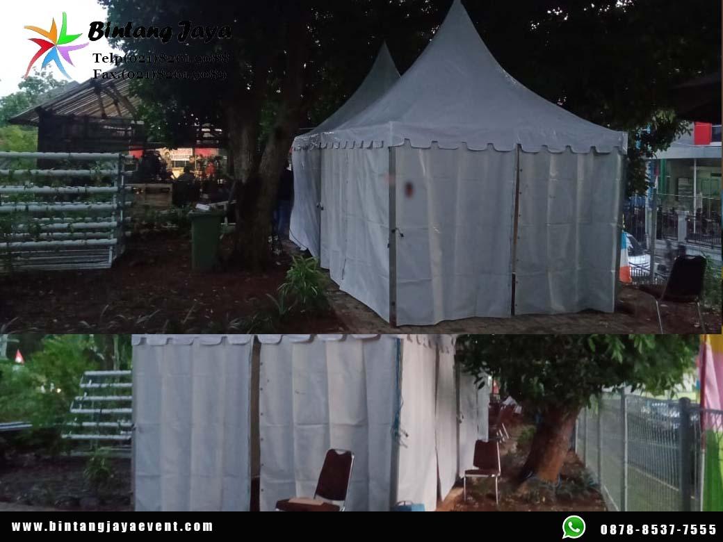 Sewa Tenda Sarnafil 3x3 Murah Full Service 24 Jam