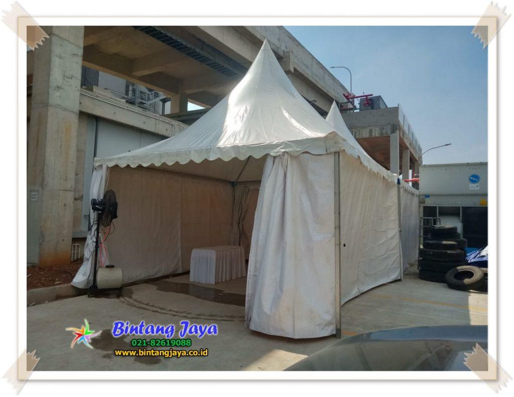 Sewa Tenda Kerucut atau Sarnafil Pondok Ungu Bekasi
