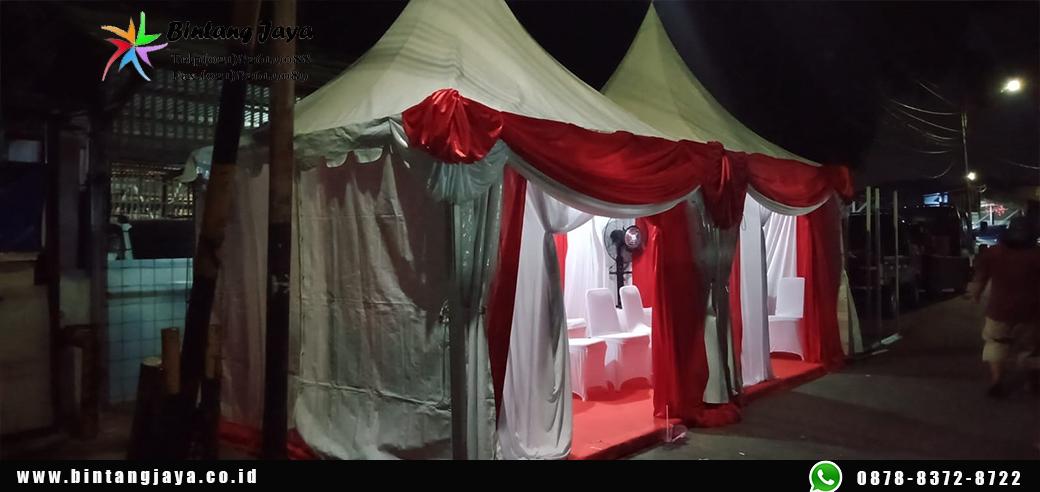 Sewa Tenda Kerucut Dekorasi Sesuai Tema event Termurah di Bekasi
